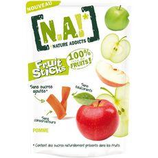 N.A. fruit sticks à la pomme doypack 40g