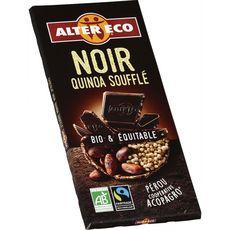Alter Eco chocolat noir quinao 100g