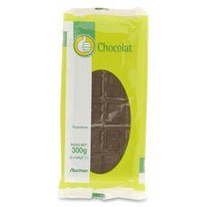 AUCHAN ESSENTIEL Tablette de chocolat noir 3 pièces 3x100g