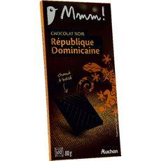 Mmm! chocolat noir origine République Dominicaine 80g