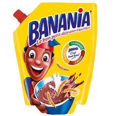 BANANIA Chocolat en poudre en poche 400g