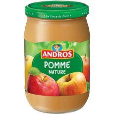 ANDROS Dessert pomme nature, en bocal 660g
