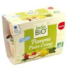 Jardin Bio fruits pomme poire 4x100g
