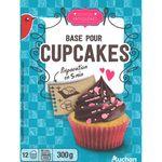 Auchan préparation pour cupcake 300g