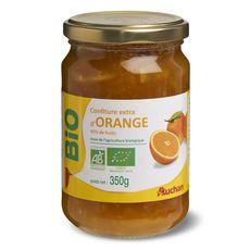 AUCHAN BIO Confiture extra d'orange 350g
