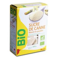 Auchan bio sucre de canne blond 500g