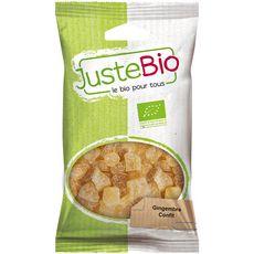 Juste Bio gingembre confit 100g