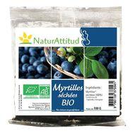 Naturattitud myrtilles séchées bio 100g