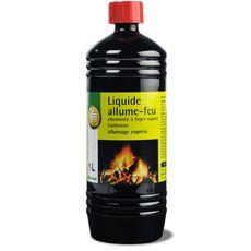POUCE Allume-feu liquide pour barbecue & cheminée à foyer ouvert 1l
