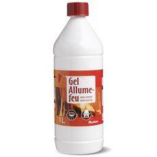 Auchan Gel allume-feu sans alcool 1l