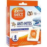 Zensect anti-mites technologique boite x8