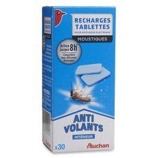 Auchan Recharges tablettes pour diffuseur électrique anti-moustiques x30
