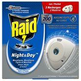 Raid recharge électrique liquide night & day x2