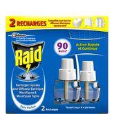 Raid recharge électrique liquide 45 nuits x2