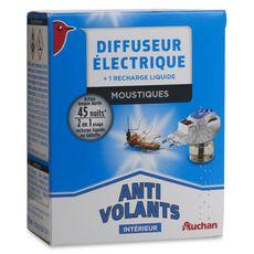 Auchan Diffuseur électrique intérieur anti-moustiques x1