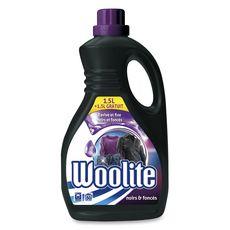 WOOLITE Lessive liquide noir foncés denim 50 lavages 1,5l+1,5l gratuit
