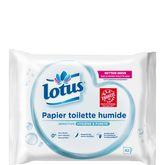 Lotus papier toilette humide pure lingette x42