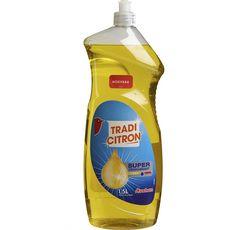 Auchan Liquide vaisselle super dégraissant au citron 1,5l
