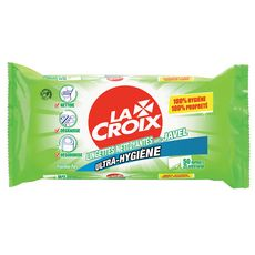 LA CROIX Lingettes nettoyantes avec javel 25 lingettes