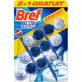 Bref wc power activ bleu 2x50g +1x50gt