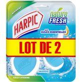 Harpic bloc galet hygiène marine 2x2
