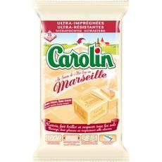 Carolin serpillière jetable fraîcheur savon de Marseille x15