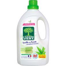 Arbre Vert assouplissant soufle de pureté 80 lavages 1,5l