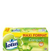Lotus mouchoirs étuis compact x56 maxi