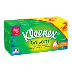 KLEENEX Kleenex mouchoirs balsam 2x80