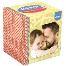 Kleenex mouchoir boîte cube photo x48