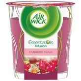 Air Wick bougie essential oils cranberry