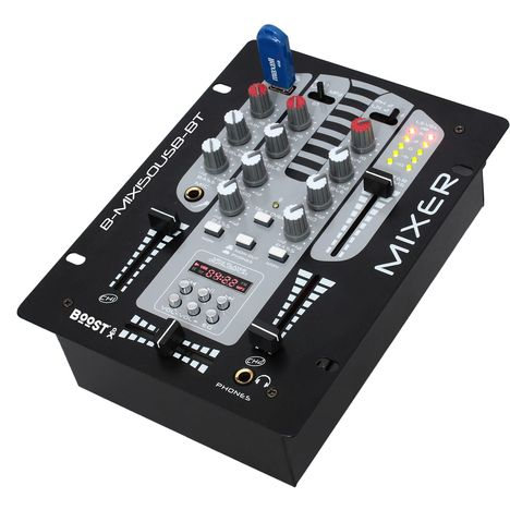 BOOST Table de mixage à 2 voies/5 canaux B-MIX150USB-BT
