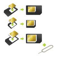 QILIVE Adaptateur Nano Sim / Micro Sim