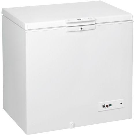 WHIRLPOOL Congélateur coffre WHM2511, 251 L, Froid statique