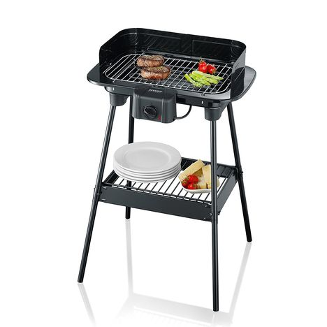 barbecue electrique pg8523 severin pas cher prix auchan. Black Bedroom Furniture Sets. Home Design Ideas