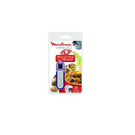 MOULINEX USB Cookéo 25 recettes du monde XA600111