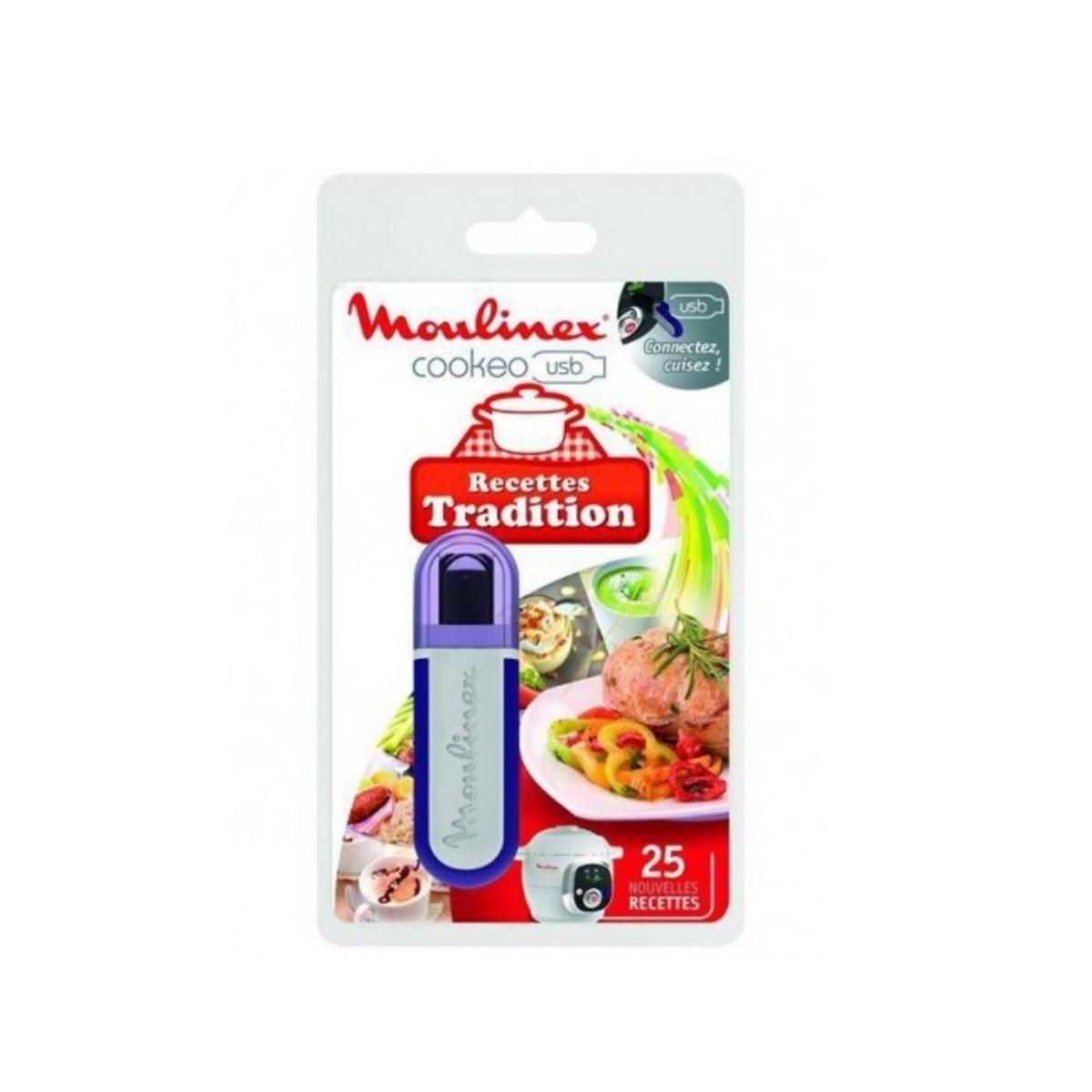 USB Cookéo 25 recettes Tradition Française