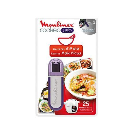 MOULINEX USB Cookéo 25 recettes d'asie XA600311