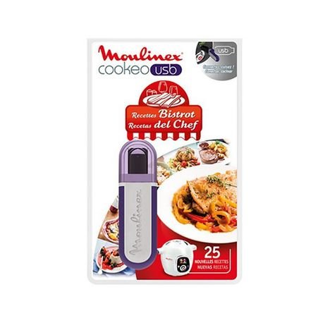 MOULINEX USB Cookéo 25 recettes bistrot XA600411