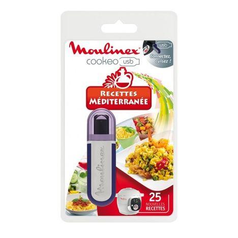 MOULINEX USB Cookéo 25 recettes Méditérrannée XA600011