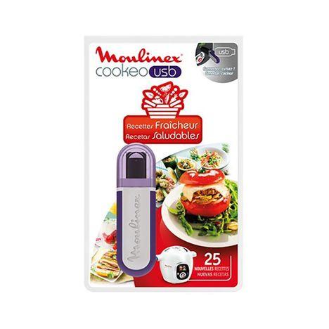 MOULINEX USB Cookéo 25 recettes Fraicheur XA600511