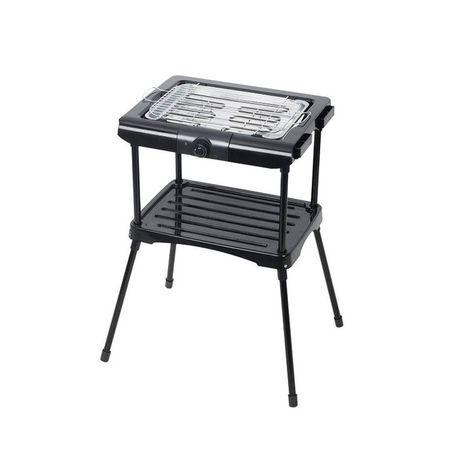 SELECLINE Barbecue electrique MCT-005A Noir Sur Pieds 2000W