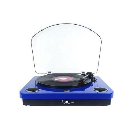 DUAL Platine vinyle - DL P10 -  Bleu laqué