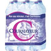 Courmayeur eau minérale 6x1,5l