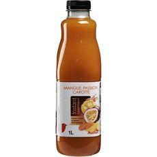 Auchan nectar gourmand mangue passion carotte 1l