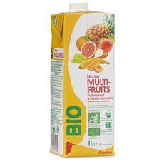 Auchan Bio nectar multifruits 1l