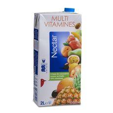 Auchan nectar multivitaminé brique 2l