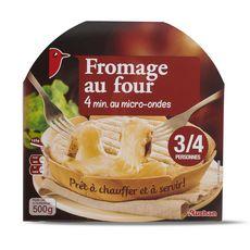 AUCHAN Fromage au four 3/4 personnes 500g