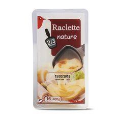 Auchan raclette tranche 400g