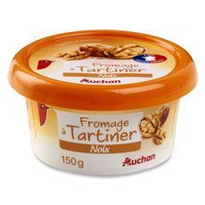 AUCHAN Auchan fromage à tartiner aux noix 150g